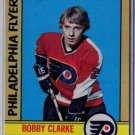 1972/1973 O-Pee-Chee NHL Hockey Card #14 Bobby Clarke NICE 3rd Year Card!