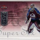 Patrick Roy 2005/2006 Ultra Fleer NHL Hockey Insert Card - Super Six #SS6, NICE!