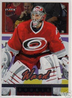 Cam Ward 2005/2006 Ultra Fleer NHL Hockey Rookie Goalie Card #263