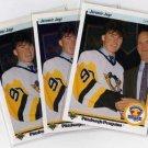 Jaromir Jagr 1990/1991 Upperdeck NHL Hockey 3x Rookie Card Lot