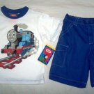 Thomas White shirt + Blue Pant for 5 years old (RM45) / (S$24)