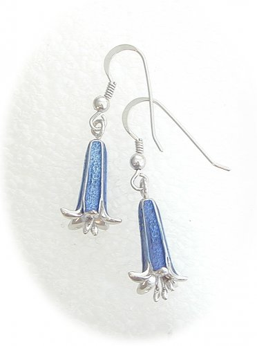 Old English Bluebell shape Earrings
