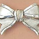 Art Nouveau style brooch design of a Ribbon Bow