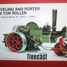 Aveling and Porter Steam Road Roller kit to assemble and paint