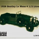 Bentley 4 1/2 litre Le Mans model white metal Kit to assemble and paint