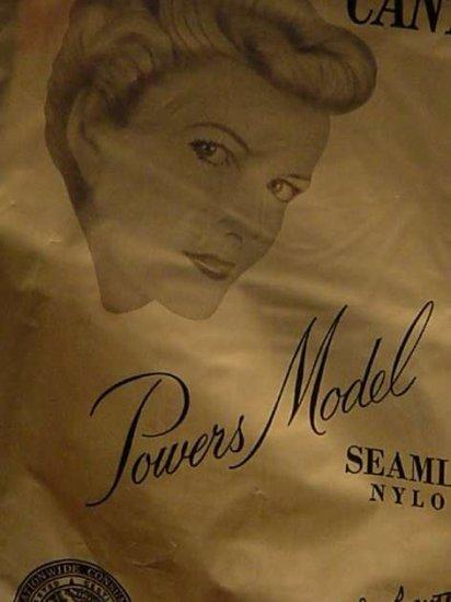 Powers Stockings Vintage Nylons Silky Glamorous  No. 5
