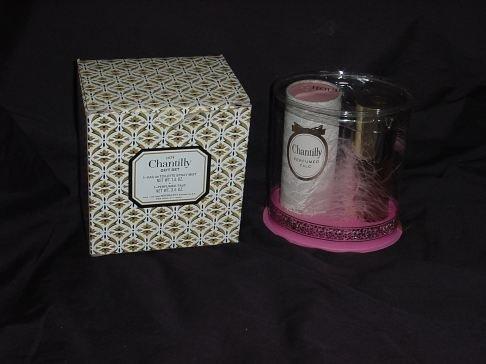 Vintage Pink Chantilly Gift Set Powder n Perfume  #60