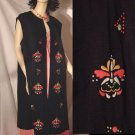 Lane Bryant Vintage Vest Embroidered Plus Sz 26 1/2   No. 147