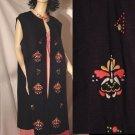 Lane Bryant Vintage Vest Embroidered Plus Sz 26 1/2   No. 147