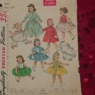 Simplicity doll clothes Patterns Doll Size 15 inch 1779  Doll Size 14 inch 2293 Incomplete No. 32