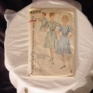 Dress Pattern Simplicity 1950s 1960 Step in Dress 3772 Miss Size 16 Bust 36   41