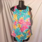 Airway Swim suit Vivid Floral  Swimsuit Size 20  Swimwear #40