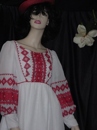 Emma Domb Vintage Dress Fantasy Empire Waist Medieval Renaissance Gown   40