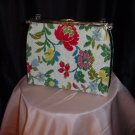 Vintage Reverse a Purse 3 in 1 handbag Lucite Handle Mint Condition L and M Bags By Edward  42