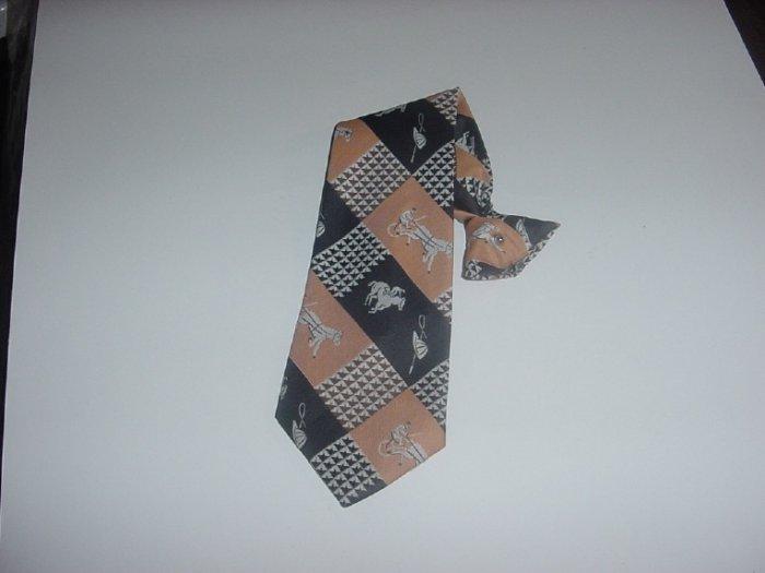 Mens Necktie Snapper  Clip On neck tie  - 44