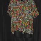 Mens Hawaiian Print Shirt C-Mrk Inc  47