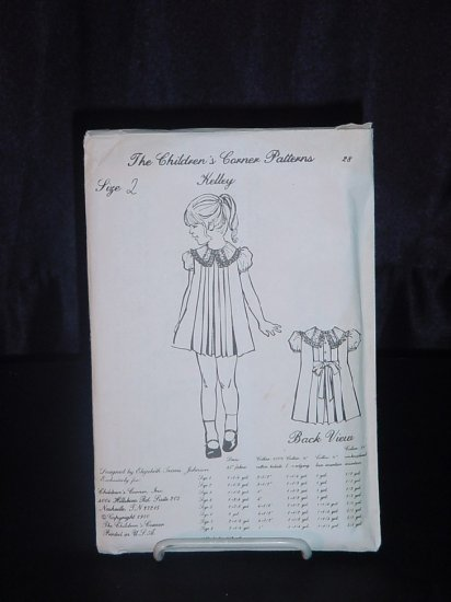 The Children's Corner Patterns Kelley Size 40 Designer Elizabeth Classy Childrens Corner Patterns