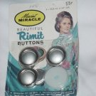 Self Cover Buttons Vintage  Maxant Miracle Rimit Sewing Buttons  1 1/8 inch diameter #71