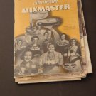 How to Get the most out of your Sunbeam Mixmaster booklet recipes  #72