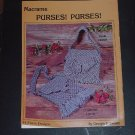 Macrame Purses Purses Featuring Pocketbooks with Pockets #72