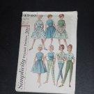 Skirt blouse top pants Sub teen weekend wardrobe Simplicity 4540  No. 88