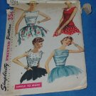 Simplicity Junior Misses and Misses blouse overblouse Size 12 Bust 30 Pattern no. 1201  No. 77
