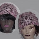 Womens Hat Mardi Gras Costume Shimmery Petal Ann Dillon