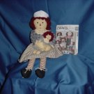 Raggedy Ann Nurse Doll plus Raggedy Ann n Andy McCall's Craft Pattern 5499   No. 81