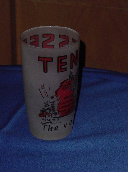 Tennessee Souvenir Vintage Drinking Glass Volunteer State  No. 81
