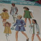 Simplicity 9296 Size 6 Child B 25 Coat Dress  No. 30