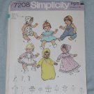 *Simplicity 7208 Small Doll Size 13 inch-14 inch  No. 30