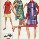 Simplicity Pattern 7411 One size 1967 Jiffy apron beach cover up