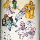 Butterick 5102 Pattern Layette One Size only  No. 86