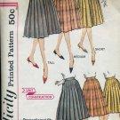 Simplicity Pattern 3561 Simplicity Skirt pattern waist 26 hip 36 pleated skirts  No. 86