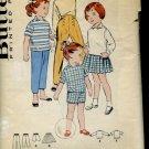 Butterick Pattern 8688 Girls Sportswear Size 5 Uncut Pattern  No. 86