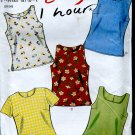 New Look sewing Pattern 6483 Size A 6-16 blouse shell Easy 1 hour sewing Uncut No. 86