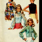 Simplicity Sewing Pattern Blouse 8594 Misses 12 Bust 34 Sleeveless  No. 86