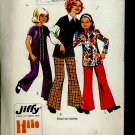 Simplicity Sewing Pattern 5338 Girls 1972 tunic bell bottom pants  No. 86