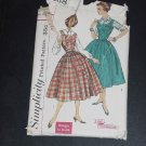 Simplicity Vintage Sewing Pattern Jumper Blouse Size 10 Bust 30  No. 88