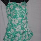 Sea Fashions of California Swimsuit Aquamarine white 20W No. 91