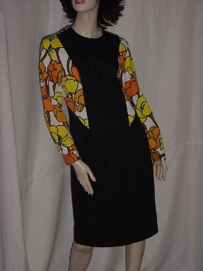 1960s 1970s Vintage 2 piece dress vest Claralura 1960s ensemble reversible vest No.95