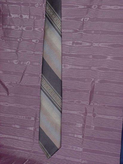 Oleg Cassini tie Hughes & Hatcher earth tone tie  No. 95
