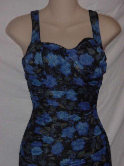 Womens Vintage swim suit 1960s 1950s pin up size 34 12 swimsuit  No. 97
