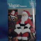 Vogue Pattern 7321 Craft Santa  No. 101a