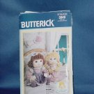 Butterick Pattern 3049 Special Blessing Dolls Abigail Christina No. 101a