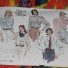 Vogue's Basic Design Shirt pattern 1398 Uncut Size 12  No. 101a