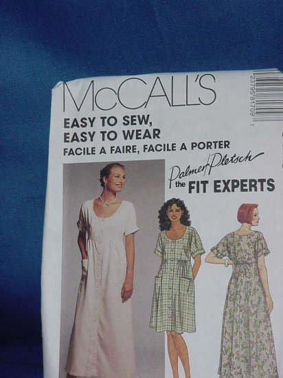 McCall's 8170 Palmer Pletsch fit experts Uncut dress Pattern Size 26  No. 103a