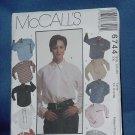 McCall's 6744 shirt Uncut Pattern Size 24, 26  No. 103a