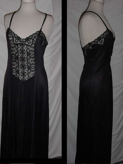 Black nightgown