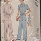 McCalls 7386 Misses two pieces pajamas vintage size 16   No. 124